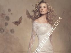 Śliczna koronkowa suknia ślubna ONICE PRONOVIAS