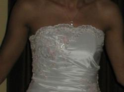 Śliczna krótka suknia ślubna- OKAZJA