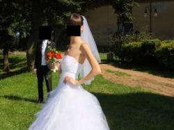 Śliczna mega modna suknia ślubna - OKAZJA!!!