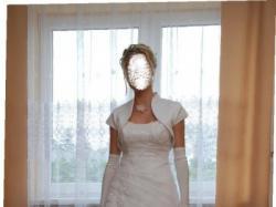 śliczna, niepowtarzalna suknia ślubna