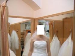 Śliczna,orginalna suknia AGORA 28-21