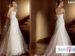 Śliczna romantyczna suknia ślubna San Patric Bremen r 36