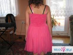 Śliczna różowa sukienka