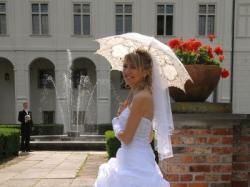 śliczna sluknia ślubna