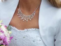 Śliczna sukienka na ślub