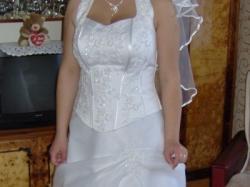 śliczna sukienka ślubna za śmieszne pieniądze