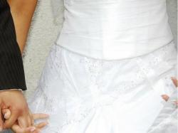 """śliczna sukienka """"SPOSA""""   rozmiar 38  BEZ PRZERÓBEK!!!!!"""