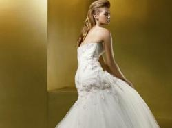 Śliczna suknia Benjamin Roberts 955