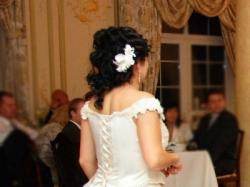 Sliczna suknia ecru