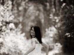 Śliczna suknia Julia Rosa + dodatki gratis