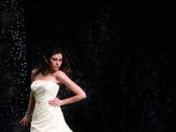 Śliczna suknia Justin Alexander 8300 Ivory