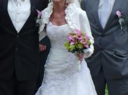 Śliczna suknia Maggie Sottero LEONI, rozm. 36