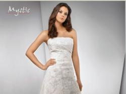 Śliczna suknia Mystic Bridal Evora,36,ecru