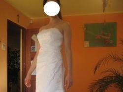 Śliczna suknia Sincerity 3288 rozmiar 36/38