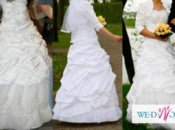 Śliczna suknia ślubna !!!