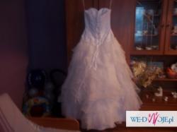 Śliczna suknia ślubna 1250