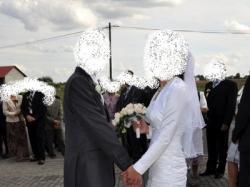 śliczna suknia ślubna 36, 38