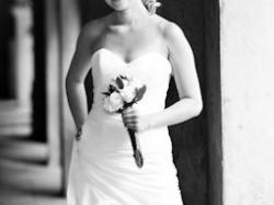 Śliczna suknia ślubna 38, jedwabna