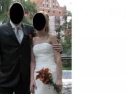 śliczna suknia ślubna!