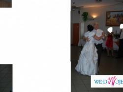 Śliczna suknia ślubna....