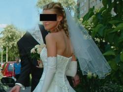 Śliczna suknia ślubna amerykańskiej firmy  sincerity model 3148
