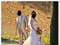 Śliczna Suknia Ślubna - Bardzo Tanio