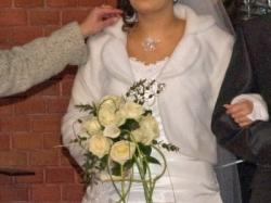 Śliczna Suknia Ślubna Basia Luty 2010