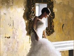 Śliczna suknia ślubna Benjamnin Roberts