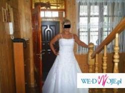 Śliczna suknia ślubna ELIZABETH