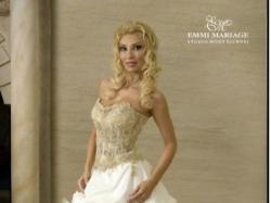 Śliczna Suknia Ślubna Emmi Mariage