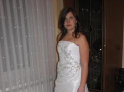 Śliczna suknia ślubna firmy Boutique Wiktoria