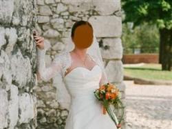 Śliczna suknia ślubna firmy La Sposa model Malvasia