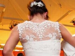 Śliczna suknia ślubna firmy NABLA