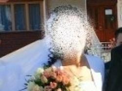 Śliczna suknia ślubna:GORSET+ SPÓDNICA+ BOLERKO. Małopolska. OKAZJA!