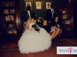 śliczna suknia ślubna + GRATISY