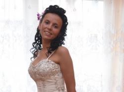 Śliczna suknia ślubna + Halka + Welon + Rękawiczki