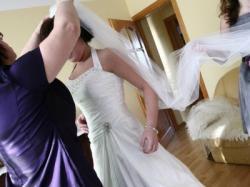 Śliczna suknia ślubna Imogene