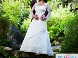 Śliczna Suknia Ślubna Julia (roz.40-42)