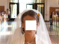 Śliczna suknia ślubna Justin Aleksander 8300