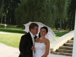 Śliczna suknia ślubna Justin Alexander model 8477