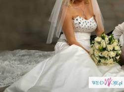 Śliczna suknia ślubna Księżniczki