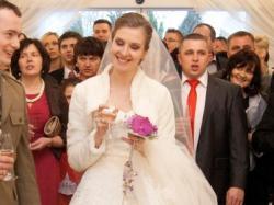 Śliczna suknia ślubna La Sposa - stan IDEALNY!