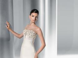 Śliczna Suknia Ślubna Lisa Ferrera Demetrios 2010!!