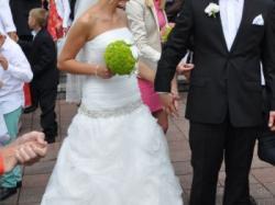 Śliczna suknia ślubna Luna Novias Ingo Or