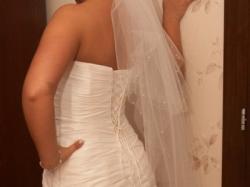 Śliczna suknia ślubna marki Agnes