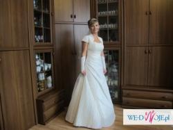 śliczna Suknia ślubna Ms Moda Model Oliwia Suknie ślubne
