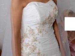 Śliczna suknia ślubna na każdą figurę