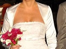 Śliczna suknia ślubna, oczywiście tylko raz używana:)Polecam