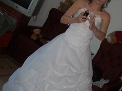 Śliczna Suknia Ślubna! Okazja!