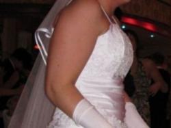 Śliczna suknia ślubna - okazja!!